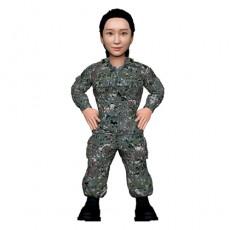 군인/여군/육군/허리손/해군/공군