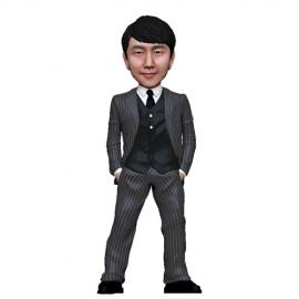 정장/줄무늬정장/승진/퇴직